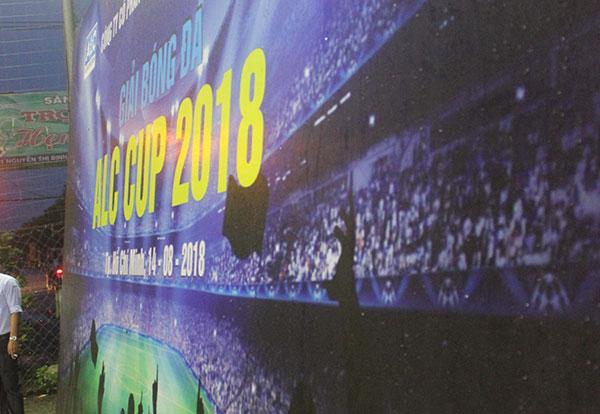 Khai mạc giải bóng đá ALC Cup 2018